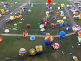 Mondial Air Ballons 2017 – Vol de Christine le samedi matin