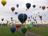 Mondial Air Ballons 2017 – Vol de Christine du vendredi matin lors de la Grande Ligne