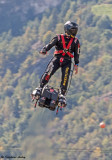Franky Zapata et son FLYBOARD AIR