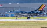 Lockheed Martin F-16A Fighting Falcon Solo Display