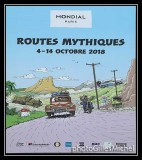 Exhibition mythical roads  in Paris Motor Show