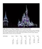 Light Show over Magic Kingdom, Disney World, Florida