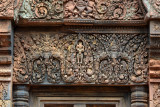 Banteay Srei - Carving Work