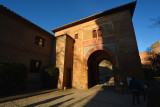 Entrance to The Alcazaba