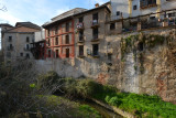 Houses over the Darro River - Granada