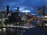 Melbourne Hilton South Wharf room view