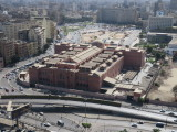 Cairo Egyptian museum and Tahrir Square