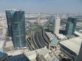 Dubai Conrad Hilton room view