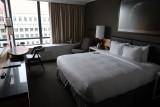 Portland my hotel room at Hilton hotel