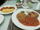 Kolkata my breakfast at hotel