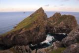 St Kilda - Sunset on Dun