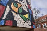 Juan Miro Mosaic Detail