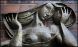 Semi Nude Sculpture Detail