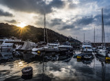 Sunrise in the Typhoon Shelter