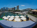 Typhoon Shelter view from the Aberdeen Boat Club, Hong Kong Island
