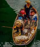 Typhoon Shelter crab fishermen, Hong Kong Island South