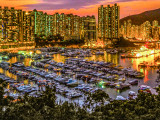 Yachts of the Typhoon Shelter