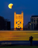 Photographers, Light Rail , and Moon Eclipse
