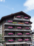 Lovely hotel with flowers