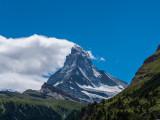 Matterhorn from our balcony