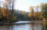 Cedar River in Autumn
