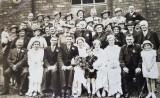1937 - Wedding of Joe & Mona Smith @ Brook Street Salvation Army Hall