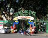 Entrance to the Saigon Zoo and Botanical Garden