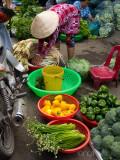 Vegetable Seller in the Sa Dec Market