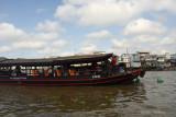 Tender Boat on the Mekong