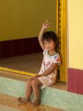 Lovely Little Girl on Evergreen Island