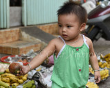 Youngest Market Seller in Saigon
