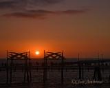 Redondo Pier at Sunset
