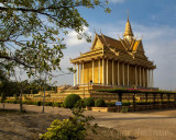 Buddhist Monastery in Oudong, Cambodia