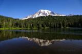 Mt Rainier on a Clear Day