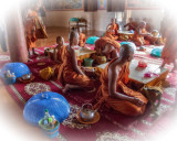Monks in the Dining Hall