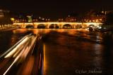Boat Traffic on the Seine