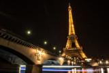 Pont d'Iena Bridge and Eiffel Tower