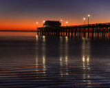 Newport Beach Sunset at the Pier