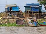 Blue Houses on the Mekong