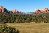 View at Mariposa Grill, Sedona, Arizona
