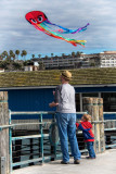 A Little Spiderman and his Kite!