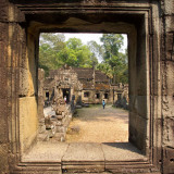 Through a Window at Preah Khan