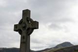Celtic Cross in Old Calton Cemetery