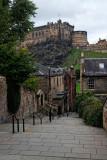 A View of the Edinburgh Castle