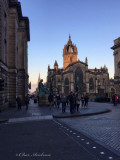 St Giles Cathedral at Sunset