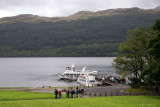 End of the Loch Lomond Cruise
