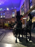 Historic Glasgow Street Scene at the Riverside Museum