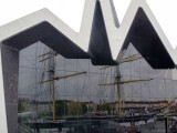 Facade of the Riverside Museum