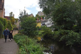 Out for a Stroll in Dean Village