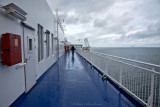 Onboard the Stena Ferry to Belfast